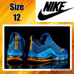 buy popular 6b81b 43b7b Nike Shoes - Nike LeBron James XII Low Basketball Shoes Size 12